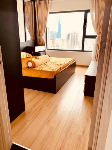 Phòng ngủ căn hộ New City Thủ Thiêm Căn hộ New City Thủ Thiêm 3 phòng ngủ view nội khu yên tĩnh.