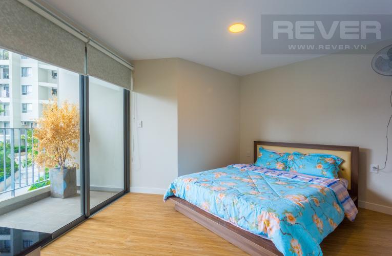 Phòng Ngủ 1 Cho thuê căn duplex Masteri Thảo Điền 2PN, view hồ bơi, đầy đủ nội thất
