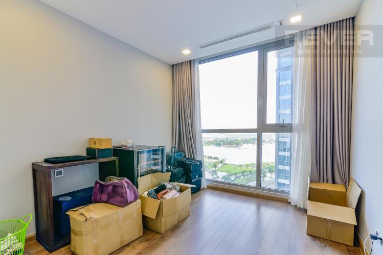 Phòng Ngủ 3 Căn hộ Vinhomes Central Park 4 phòng ngủ tầng thấp P2 view sông