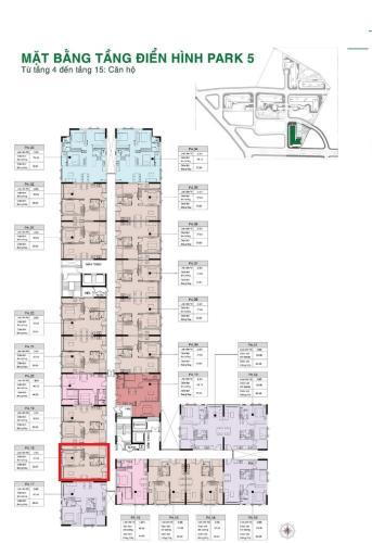 Căn hộ tầng trung Picity High Park nội thất cơ bản.