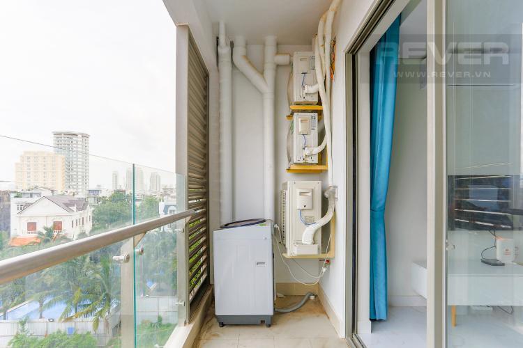 Ban Công Căn hộ An gia Skyline 2 phòng ngủ tầng thấp nội thất đầy đủ