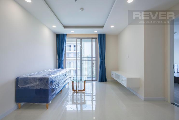 Phòng Khách Căn góc Scenic Valley 2 phòng ngủ tầng cao tháp D view hướng sông