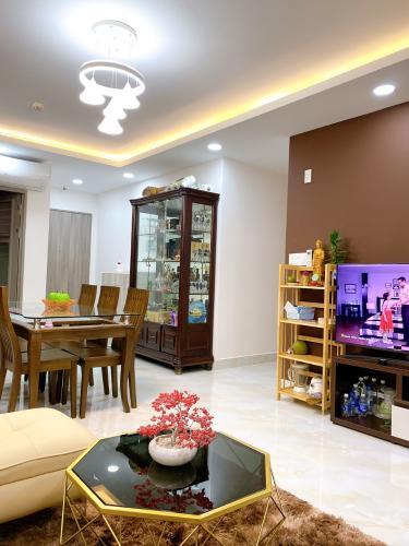 Nội thất  Saigon South Residence Căn hộ Saigon South Residence tầng cao, đầy đủ nội thất, view nội khu.
