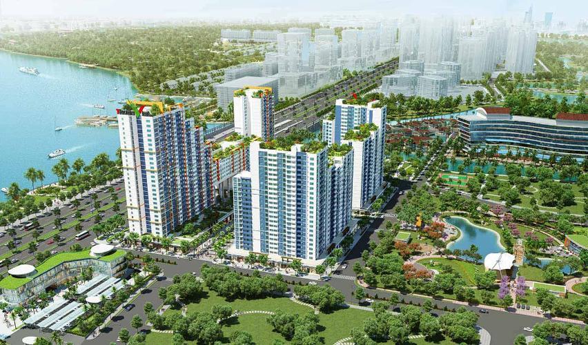 New City Thủ Thiêm, Quận 2 Căn hộ New City Thủ Thiêm tầng cao, view nội khu mát mẻ.