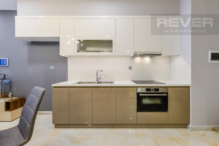 Bếp Bán và cho thuê căn hộ Vinhomes Golden River 1PN đầy đủ nội thất view sông