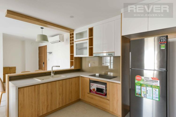 Bếp căn hộ NEW CITY THỦ THIÊM Cho thuê căn hộ New City Thủ Thiêm 3PN, tầng 12, đầy đủ nội thất, view nội khu