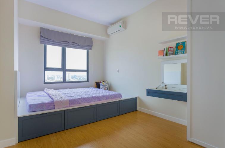 Phòng ngủ 1 Căn hộ Masteri Thảo Điền tầng cao hướng Tây Bắc tháp T3