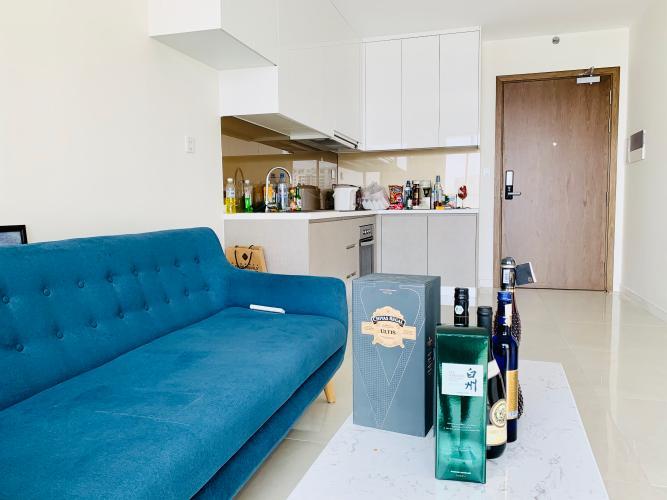 Bán căn hộ Masteri Millennium 2PN, block A, đầy đủ nội thất, ban công hướng Đông Bắc, view Quận 1
