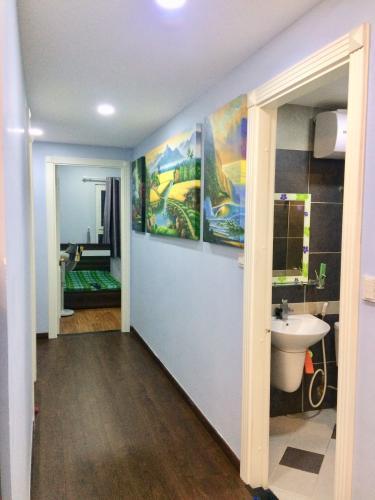 Hành lang chung cư Phúc Yên, Tân Bình Căn hộ chung cư Phúc Yên hướng Đông Nam, đầy đủ nội thất.