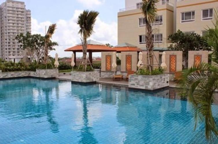 Hồ bơi Tropic Garden, Quận 2 Căn hộ Tropic Garden view sông, đầy đủ nội thất.