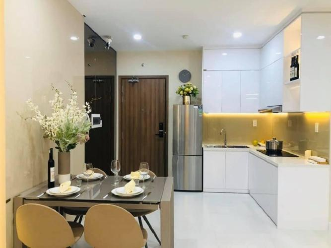 phòng ăn căn hộ Ricca Bán căn hộ Ricca thuộc tầng trung, diện tích 68m2, 2 phòng ngủ, hướng ban công Tây Nam,