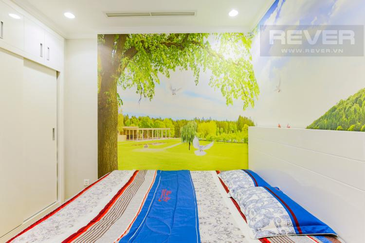 Phòng Ngủ 1 Căn hộ Vinhomes Central Park tầng thấp Landmark 2 thiết kế đẹp, đầy đủ nội thất
