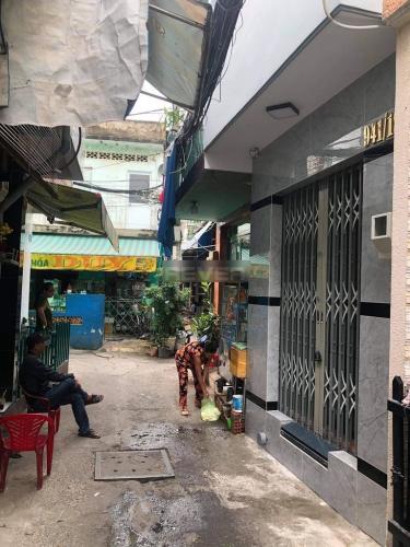 Hẻm nhà phố đường Trần Xuân Soạn, Quận 7 Nhà phố hướng Đông Bắc kết cấu nhà 1 trệt 2 lầu, hẻm trước rộng 3m.