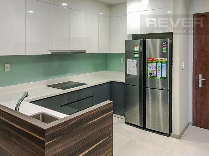 Phòng Bếp Cho thuê căn hộ The Gold View 2PN, tầng cao, đầy đủ nội thất, view sông và Bitexco