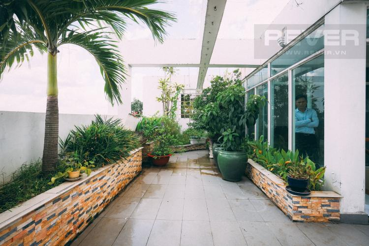 Sân Thượng Bán penthouse New Sài Gòn 4PN, đầy đủ nội thất, view đẹp