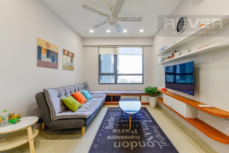 Phòng khách Căn hộ Masteri Thảo Điền 1 phòng ngủ tầng trung T4 đầy đủ nội thất