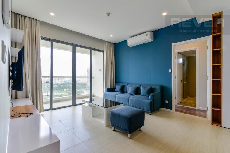 Phòng Khách 1 Bán căn hộ Diamond Island - Đảo Kim Cương 3 phòng ngủ, đầy đủ nội thất, view Landmark 81