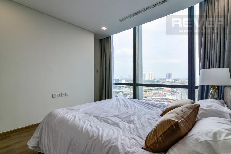 Phòng Ngủ 2 Căn hộ Vinhomes Central Park tháp Landmark 81, 4PN 2WC, nội thất đầy đủ