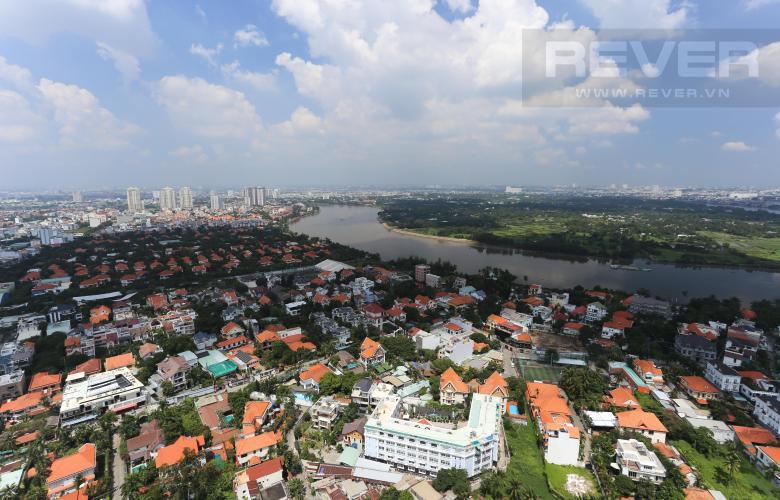 View Căn hộ Masteri Thảo Điền tầng cao, 2PN, đầy đủ nội thất, view sông