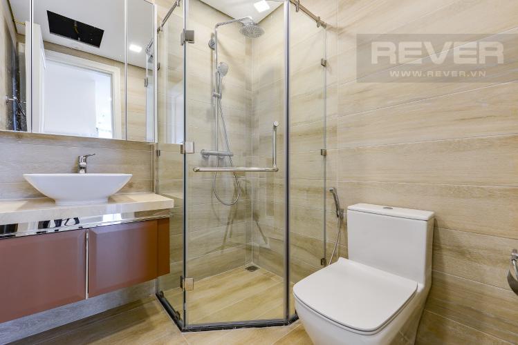 Phòng tắm 2 Căn hộ Vinhomes Golden River tầng thấp A3 view sông 2 phòng ngủ
