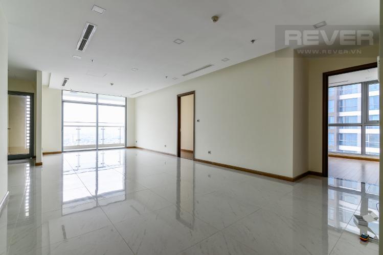 Phòng Khách Căn hộ Vinhomes Central Park tầng cao, 3PN, view sông Sài Gòn