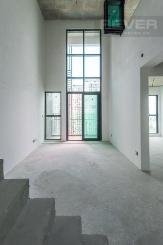 PHÒNG KHÁCH căn hộ Feliz En Vista Căn hộ Feliz En Vista thô, tầng cao view thành phố thoáng mát.