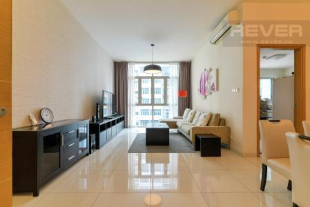 Cho thuê căn hộ The Vista An Phú 2PN, diện tích 101m2, đầy đủ nội thất, view hồ bơi yên tĩnh