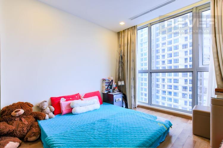 Phòng Ngủ 1 Căn hộ Vinhomes Central Park tầng trung Park 5 view trực diện sông