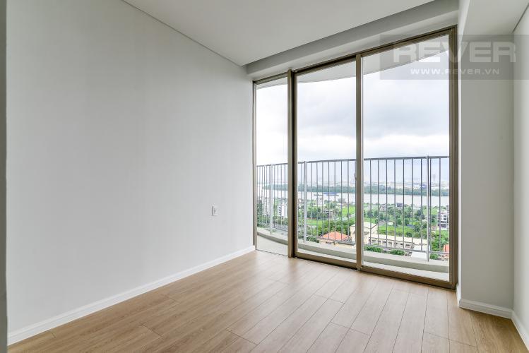 Phòng Ngủ 1 Cho thuê căn hộ Waterina Suites 3PN, tầng trung, nội thất cơ bản, view sông và Landmark 81