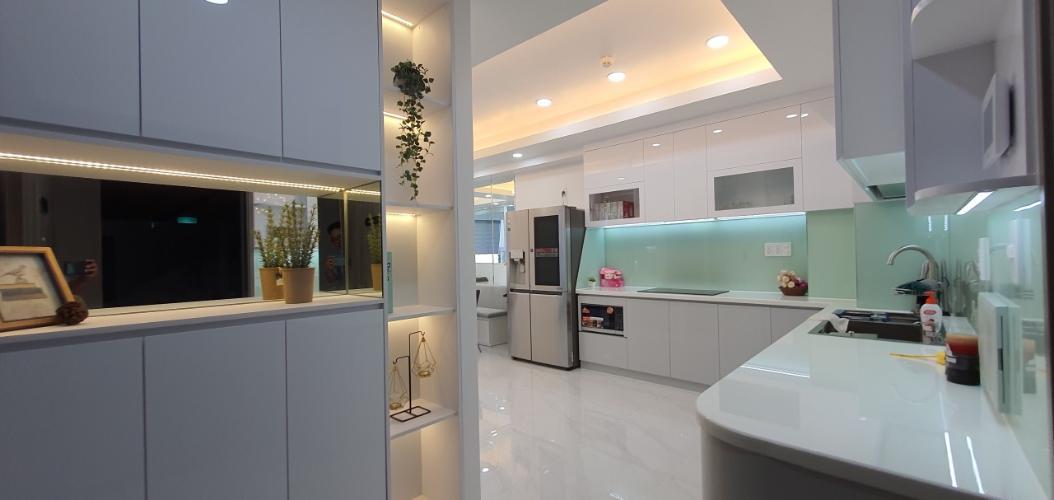 Căn hộ Saigon South Residence tầng 28 nội thất hiện đại