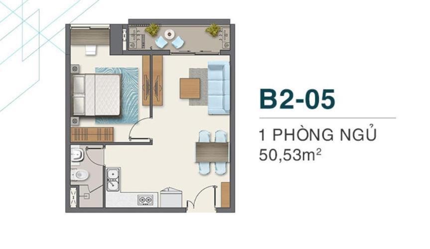 Căn hộ Q7 Boulevard nội thất cơ bản, chưa bàn giao, view nội khu.