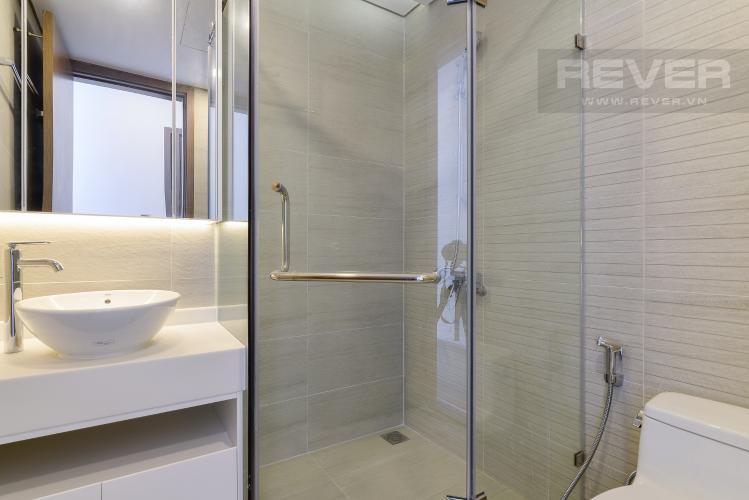 Phòng tắm 1 Căn góc Vinhomes Central Park 4 phòng ngủ, nội thất cơ bản, view sông