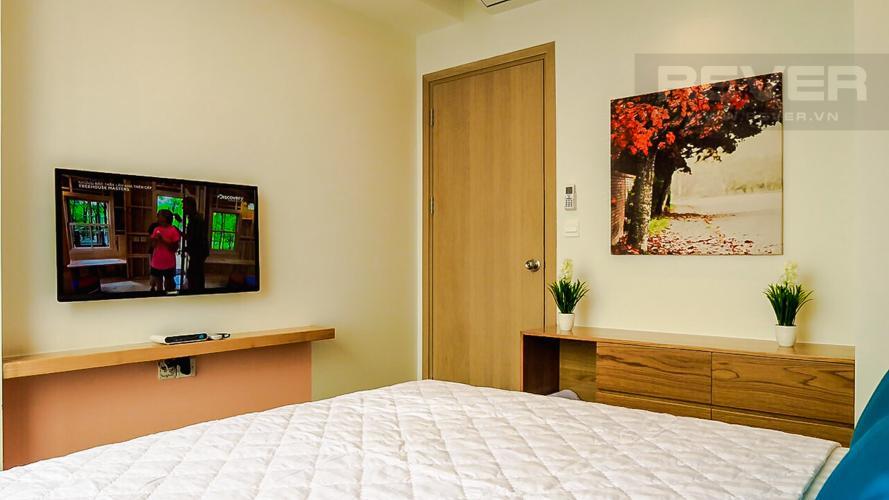Phòng Ngủ Căn hộ RiverGate Residence tầng cao, 2PN, đầy đủ nội thất, view kênh Bến Nghé