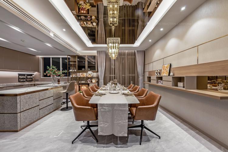 Bán căn hộ Penhouse Vista Verde 4PN, diện tích sàn 252m2, đầy đủ nội thất thiết kế sang trọng và đẳng cấp