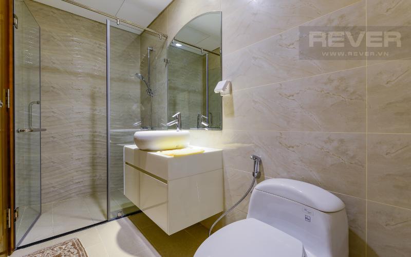 Phòng tắm 2 Căn hộ Vinhomes Central Park 3 phòng ngủ tầng cao L1 nội thất đầy đủ