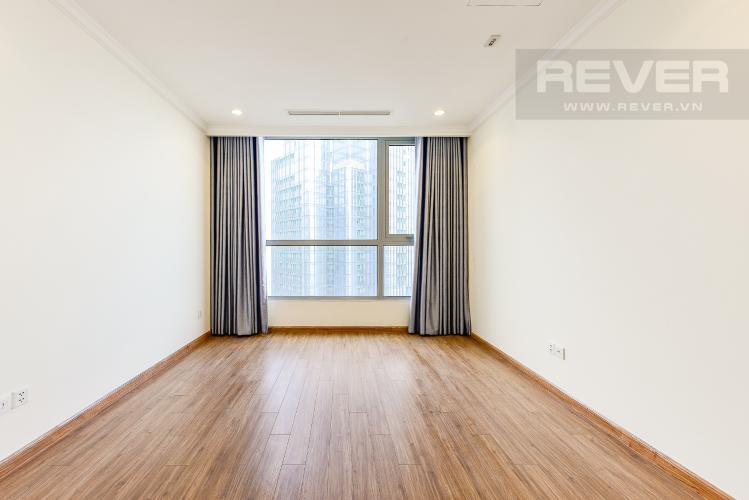 Phòng ngủ 2 Căn hộ Vinhomes Central Park tầng cao L1, 3 phòng ngủ nội thất cơ bản
