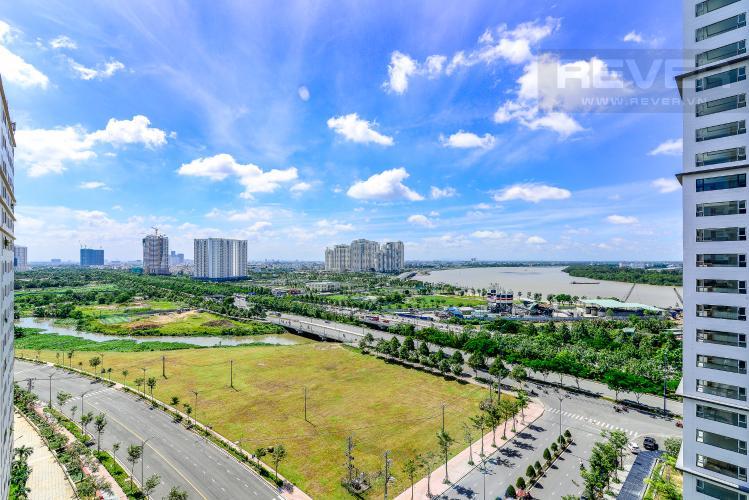 View Căn hộ New City Thủ Thiêm tầng trung 1 phòng ngủ view sông