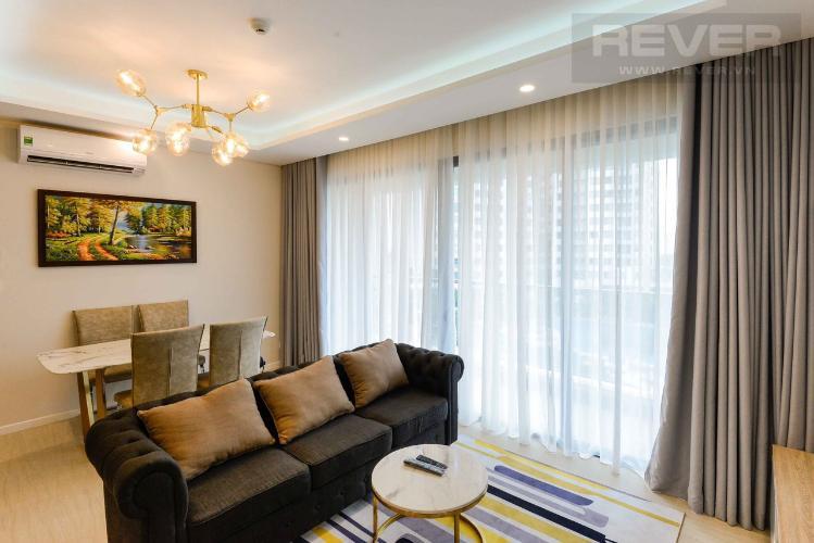 Phòng khách căn hộ DIAMOND ISLAND Căn hộ Diamond Island tầng thấp, diện tích 91m2 - 2 phòng ngủ