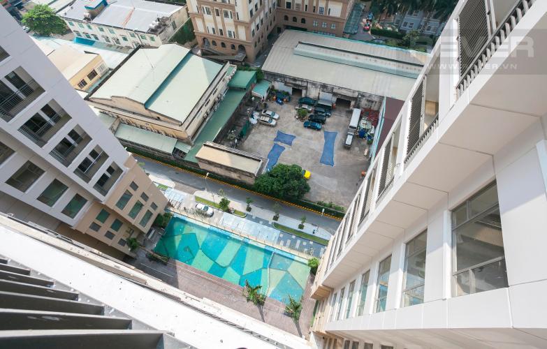 View Căn hộ The Tresor 2 phòng ngủ tầng trung view hồ bơi nội khu
