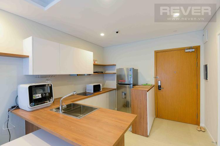 Bếp Cho thuê căn hộ Diamond Island - Đảo Kim Cương 1PN, đầy đủ nội thất, view sông thoáng đãng