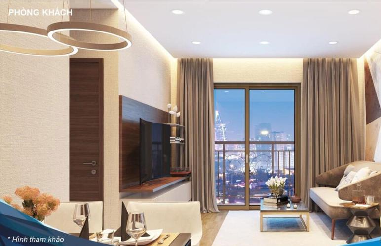 phong-khach-can-ho-q7-riverside-complex Bán căn hộ Q7 Saigon Riverside, 1 phòng ngủ, diện tích 53.2m2, chưa bàn giao
