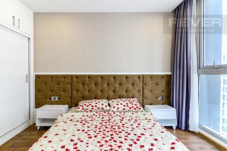 Phòng Ngủ 2 Căn hộ Vinhomes Central Park 2 phòng ngủ tầng cao P2 nội thất đầy đủ