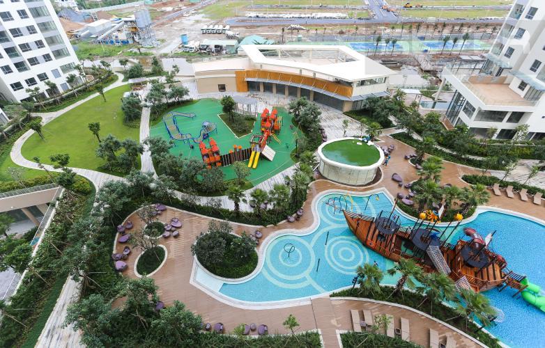 View Căn hộ Diamond Island - Đảo Kim Cương 2PN đầy đủ nội thất