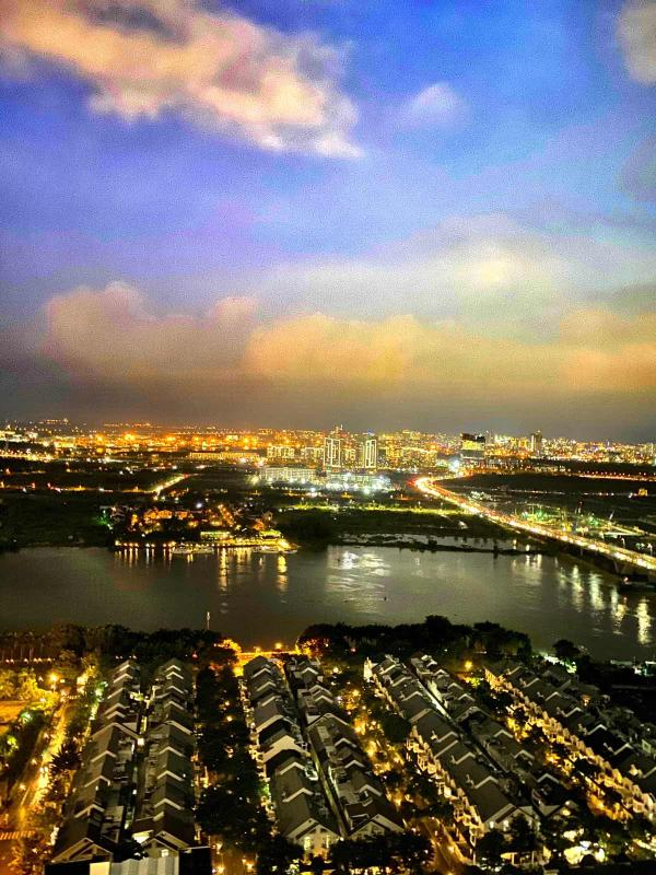 7 Bán hoặc cho thuê căn hộ Saigon Pearl 3PN, tầng cao, tháp Sapphire 1, đầy đủ nội thất, view sông và thành phố