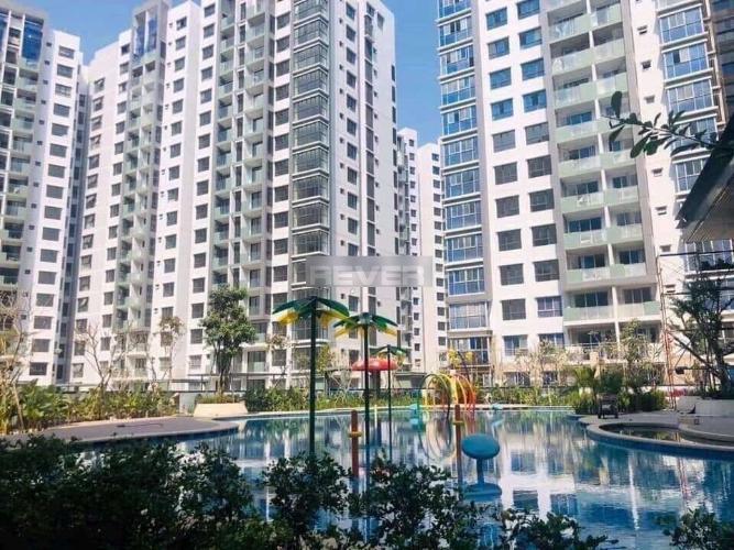 Celadon City, Tân Phú Căn hộ Celadon City tầng thấp, nội thất gỗ cơ bản.