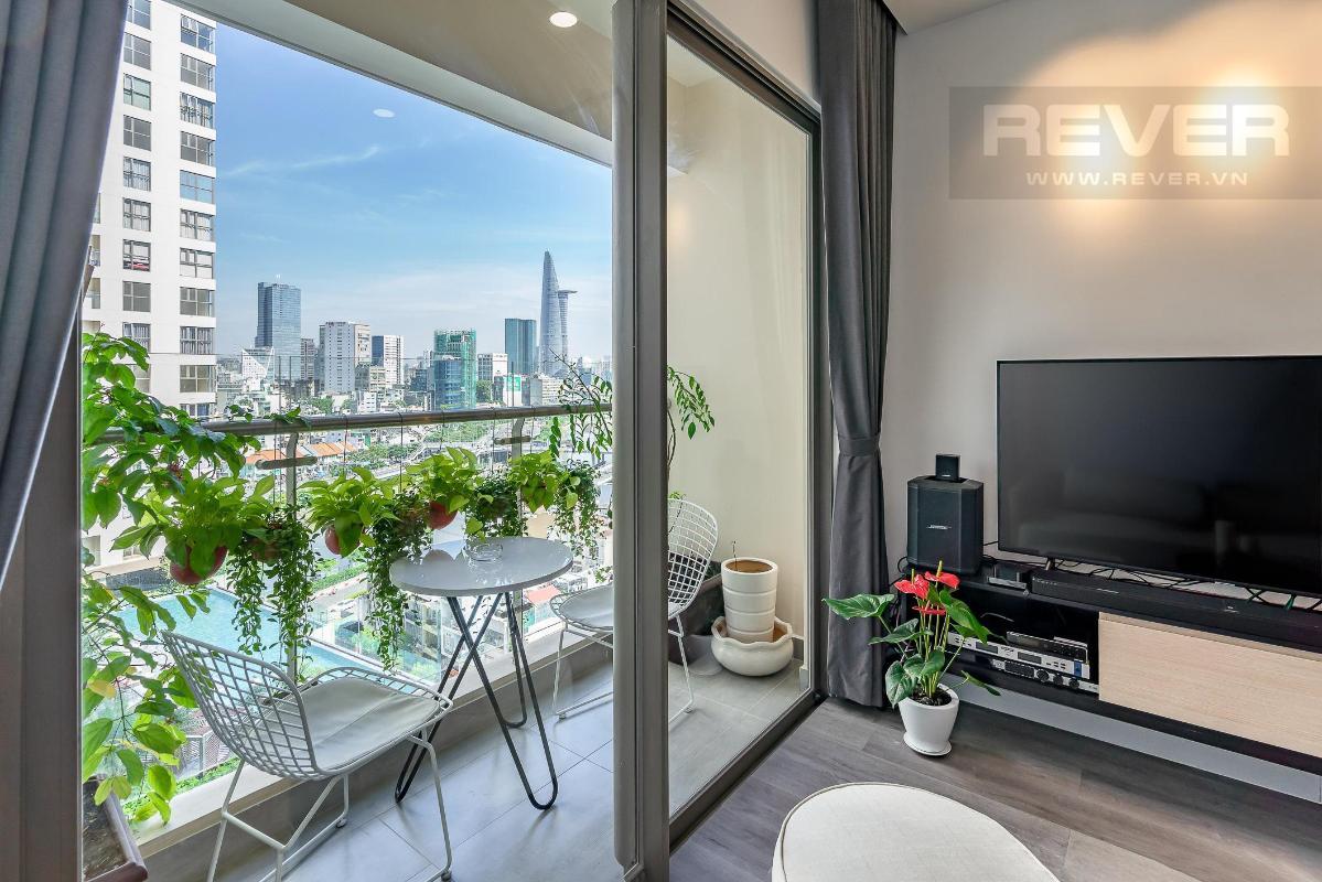 4266c96564298277db38 Bán căn hộ Masteri Millennium 2 phòng ngủ, block B, đầy đủ nội thất, view Bitexco