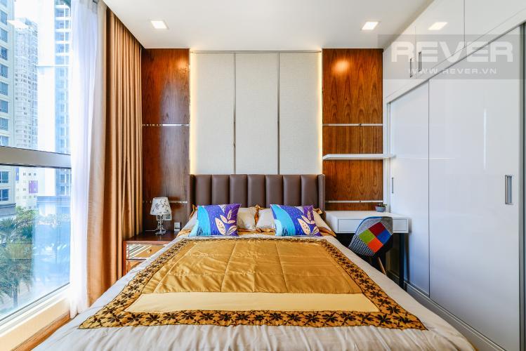 Phòng Ngủ 2 Căn hộ Vinhomes Central Park 4PN, tầng thấp, đầy đủ nội thất