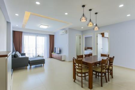 Căn hộ M-One Nam Sài Gòn 3 phòng ngủ tầng trung T1 nội thất đầy đủ