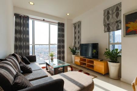Căn hộ Sunrise City 2 phòng ngủ tầng thấp V5 đầy đủ tiện nghi