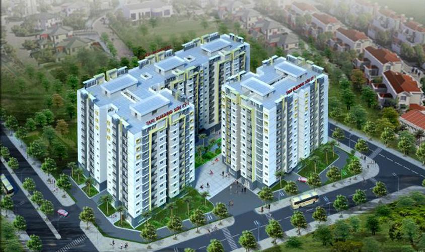 Tani Building Sơn Kỳ 1, Tân Phú Căn hộ Tani Building Sơn Kỳ 1 hướng Tây Nam, đầy đủ nội thất.